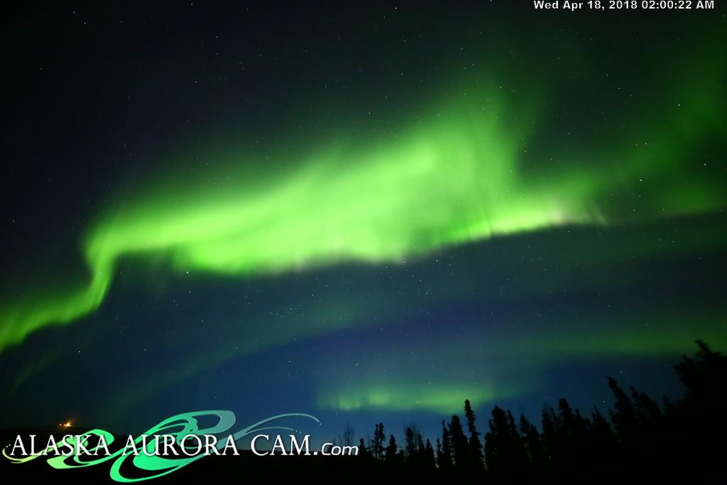 April  17th  - Alaska Aurora Cam