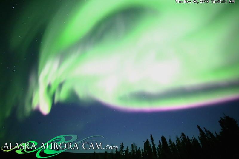 November 2nd  - Alaska Aurora Cam