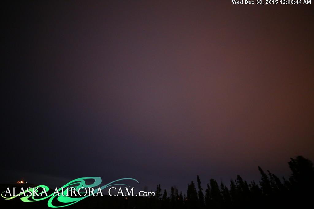 December 29th - Alaska Aurora Cam