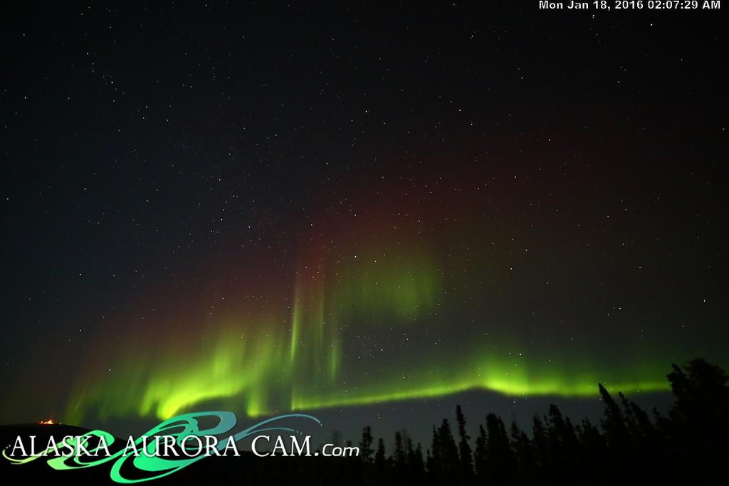 January 17th  - Alaska Aurora Cam