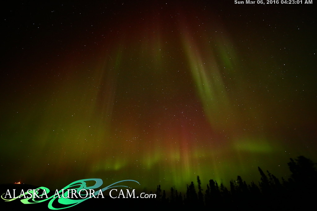 March 5th - Alaska Aurora Cam
