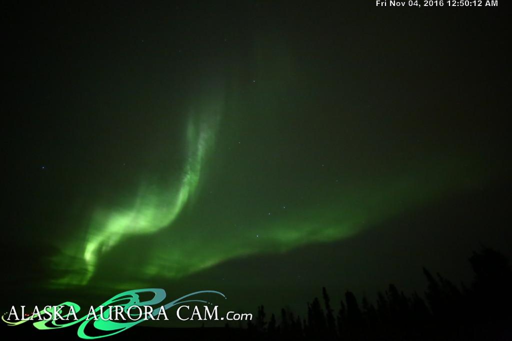 November 3rd  - Alaska Aurora Cam