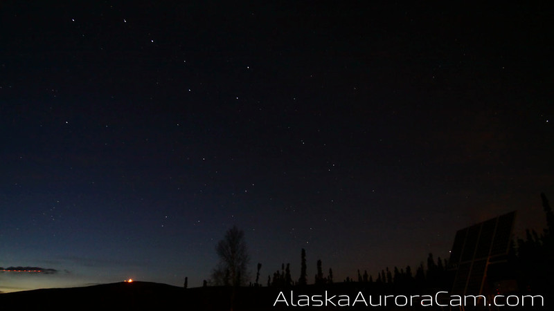 Bonus Timelapse Video - October 22nd Alaska Aurora Cam