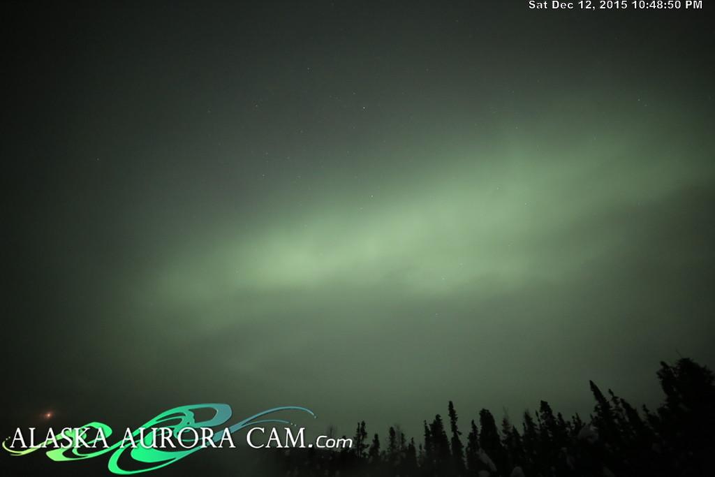 December 12th - Alaska Aurora Cam