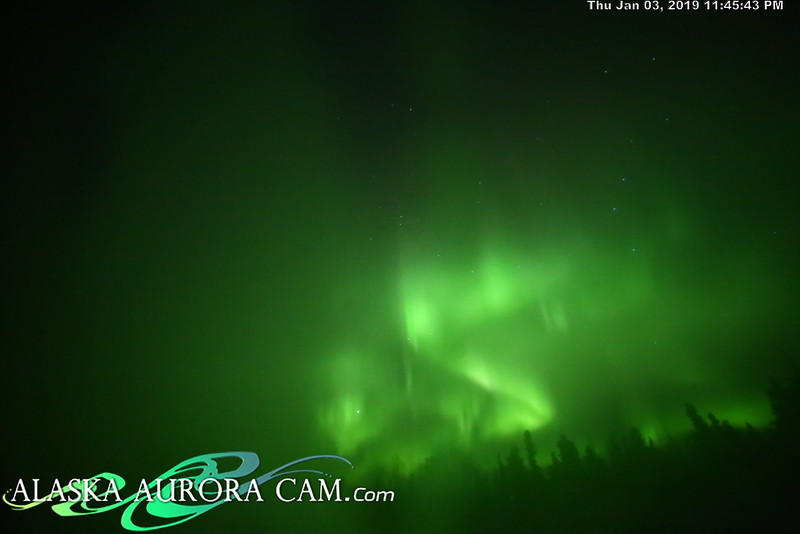 January 3rd- Alaska Aurora Cam