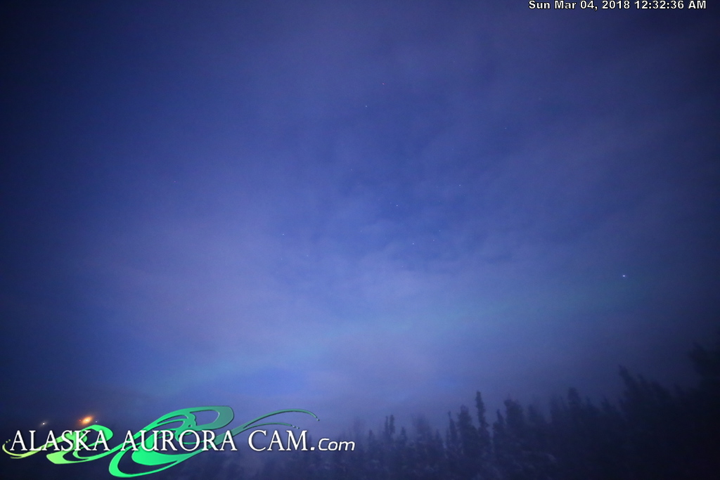 March 3rd  - Alaska Aurora Cam