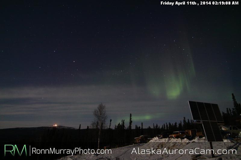 April 11th - Alaska Aurora Cam