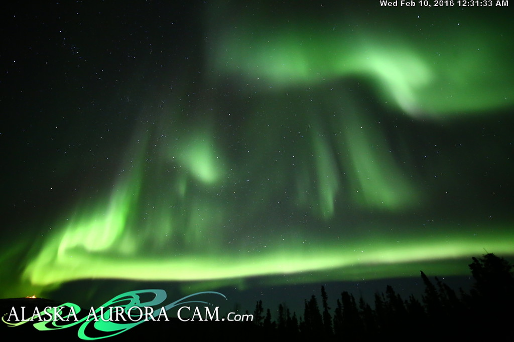 February 9th - Alaska Aurora Cam