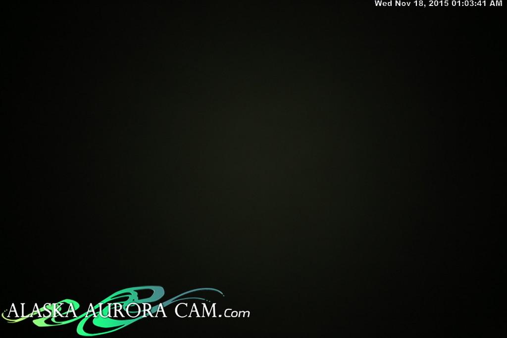 November 17th - Alaska Aurora Cam