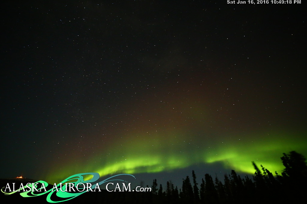 January 16th  - Alaska Aurora Cam