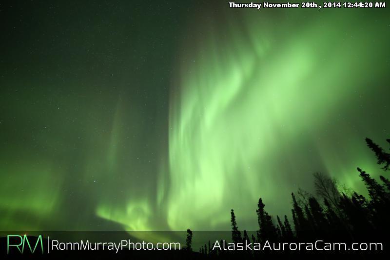 November 19th - Alaska Aurora Cam