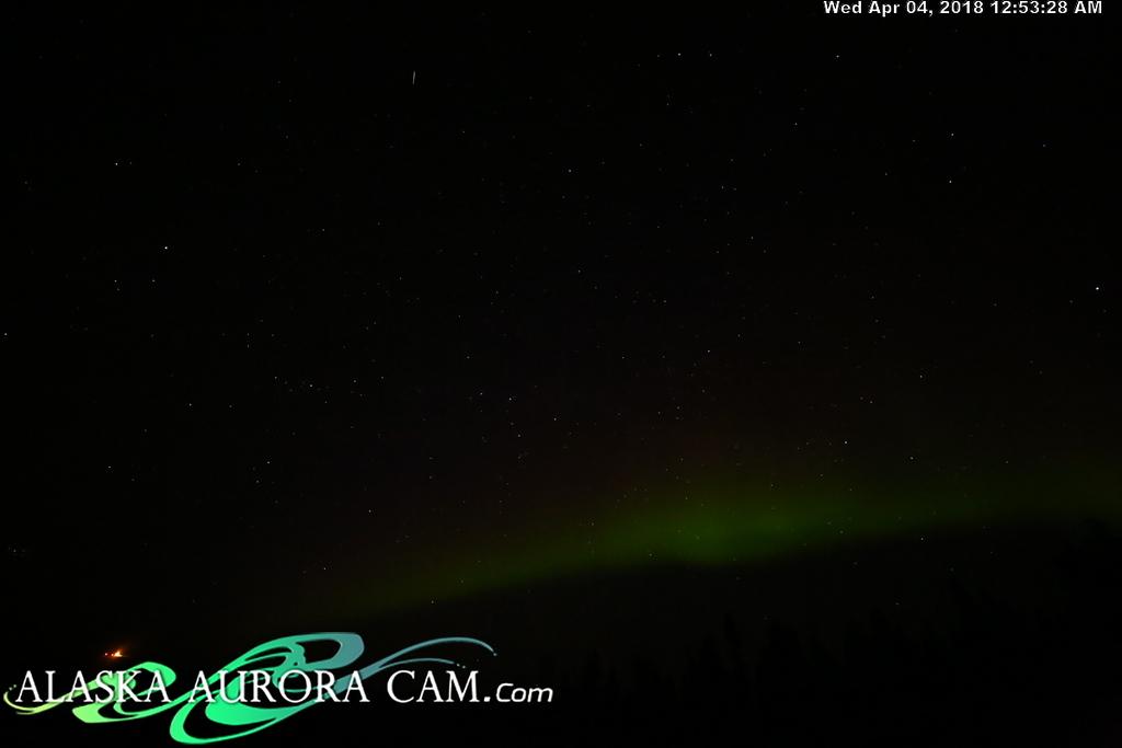 April  3rd  - Alaska Aurora Cam