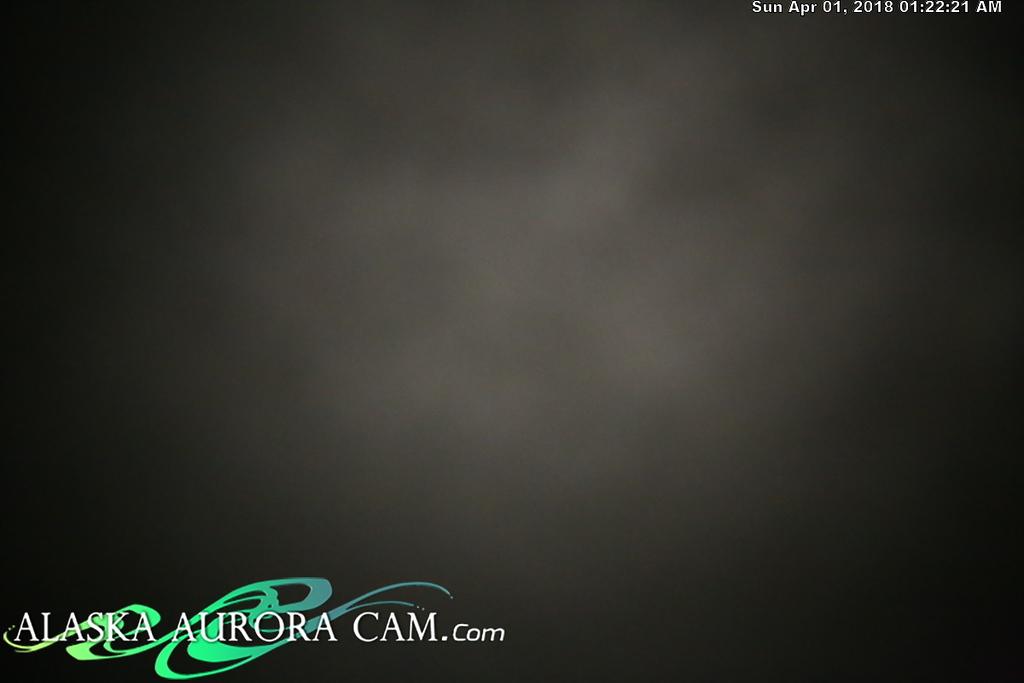 March 31st  - Alaska Aurora Cam