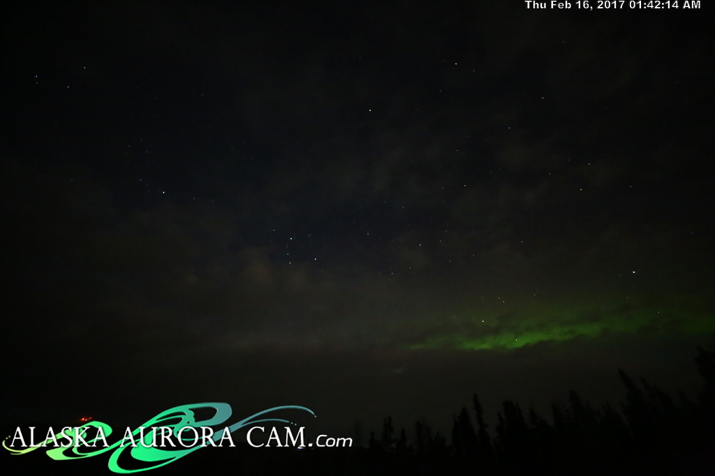 February 15th  - Alaska Aurora Cam