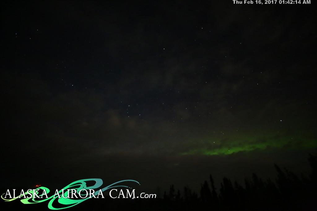 February 15th  - Alaska Aurora Cam