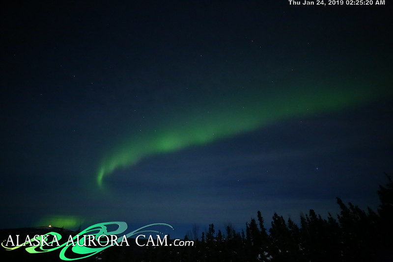 January 23rd - Alaska Aurora Cam