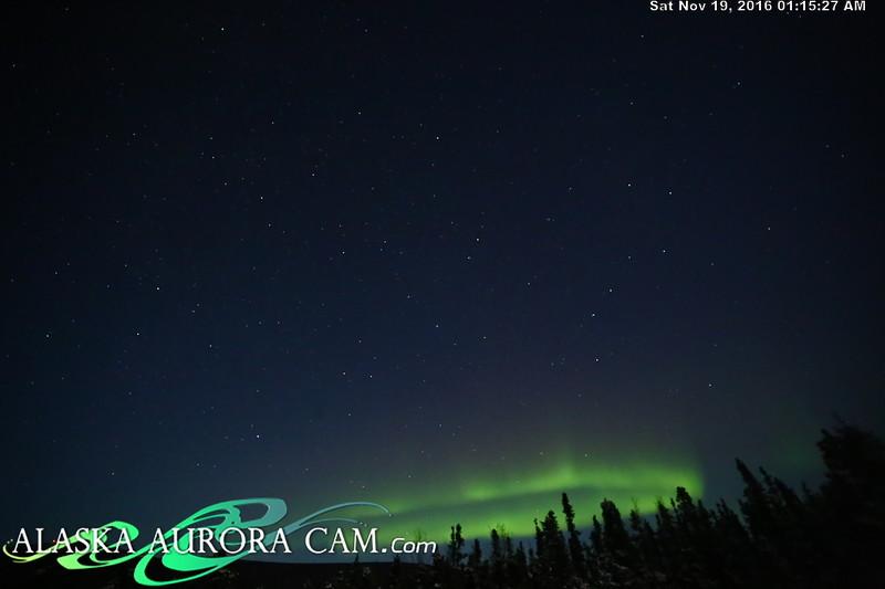 November 18th  - Alaska Aurora Cam
