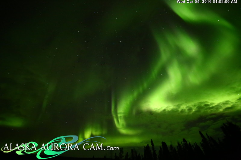 October 4th - Alaska Aurora Cam