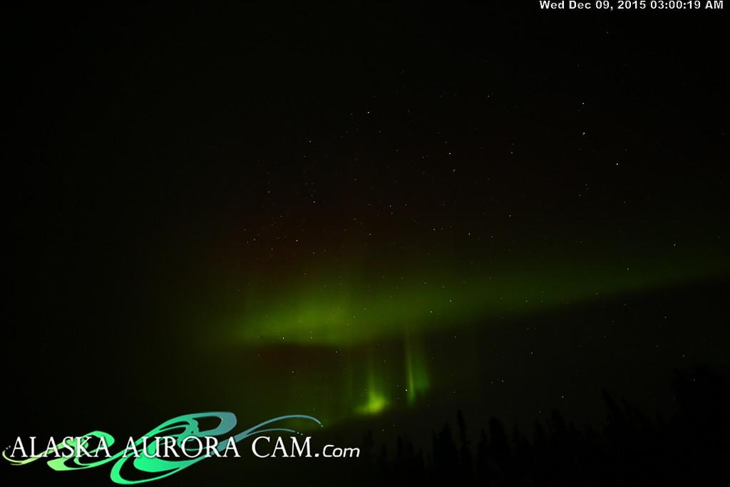 December 8th - Alaska Aurora Cam