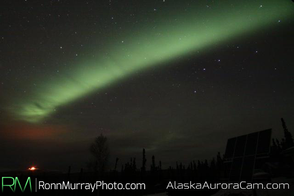 Window in the Clouds - October 11th, Alaska Aurora Webcam