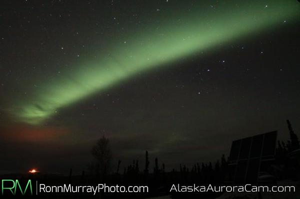 Window in the Clouds - October 11th, Alaska Aurora Webcam