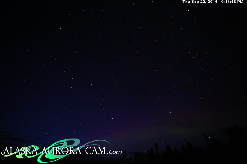 September 22nd - Alaska Aurora Cam