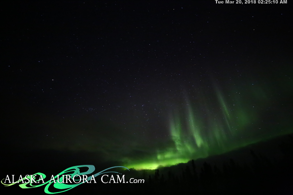 March 19th  - Alaska Aurora Cam