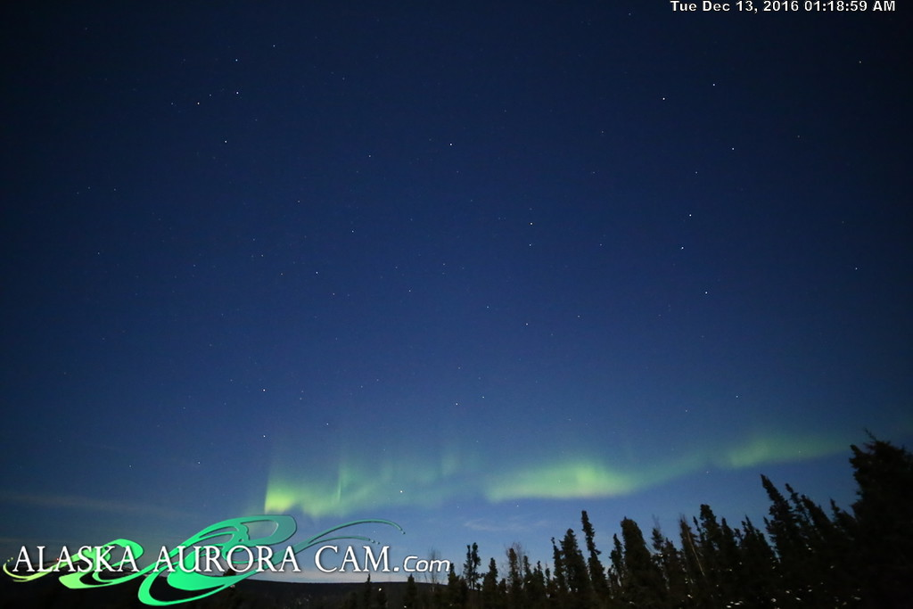 December 12th  - Alaska Aurora Cam