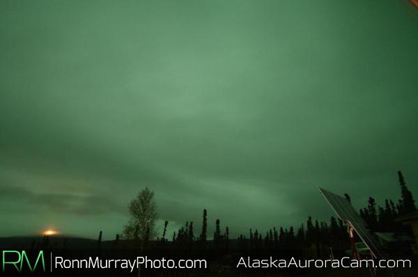 October 9th, Alaska Aurora Webcam