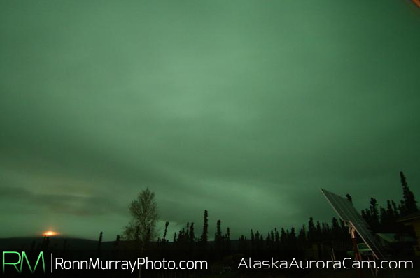 October 9th, Alaska Aurora Webcam