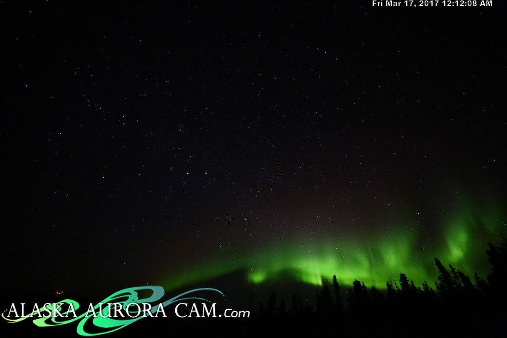 March 16th  - Alaska Aurora Cam
