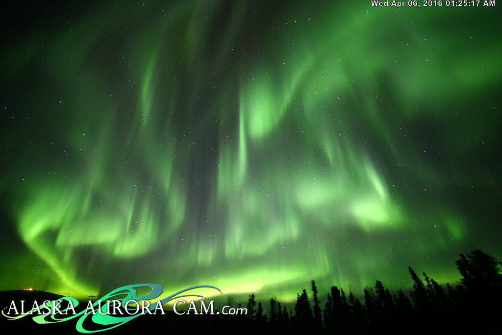 April 5th - Alaska Aurora Cam