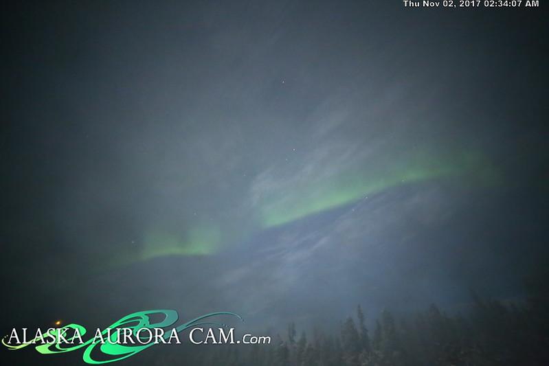 November 1st - Alaska Aurora Cam