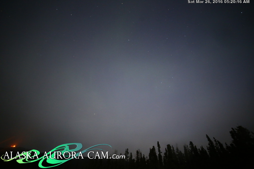 March 25th - Alaska Aurora Cam