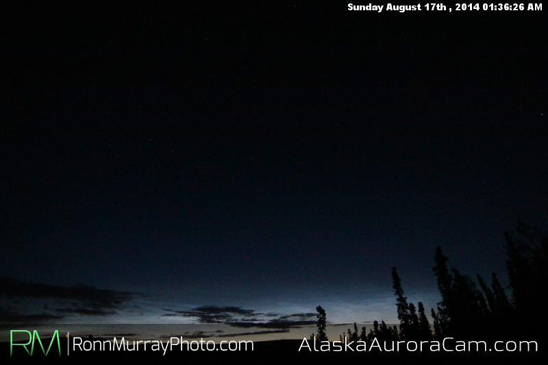 August 16th - Alaska Aurora Cam
