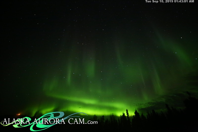 September 9th - Alaska Aurora Cam