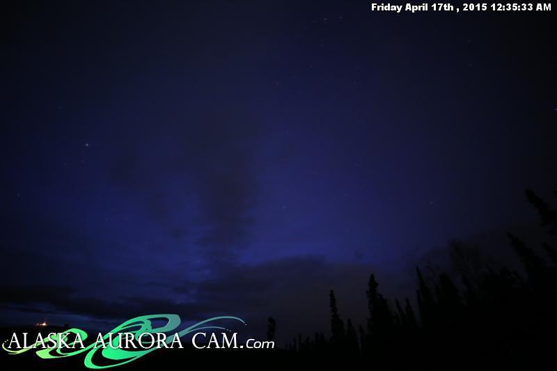 April 16th - Alaska Aurora Cam