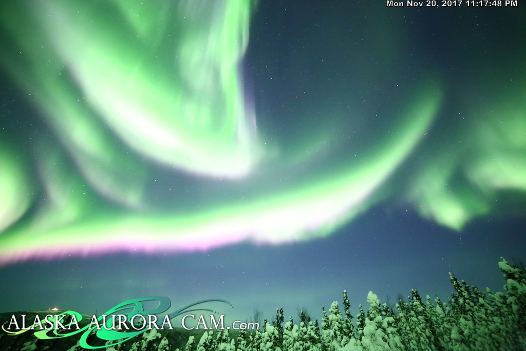 November 20th - Alaska Aurora Cam