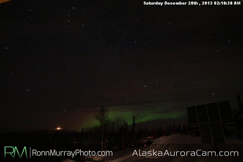 Small Show - Dec 28th, Alaska Aurora Cam