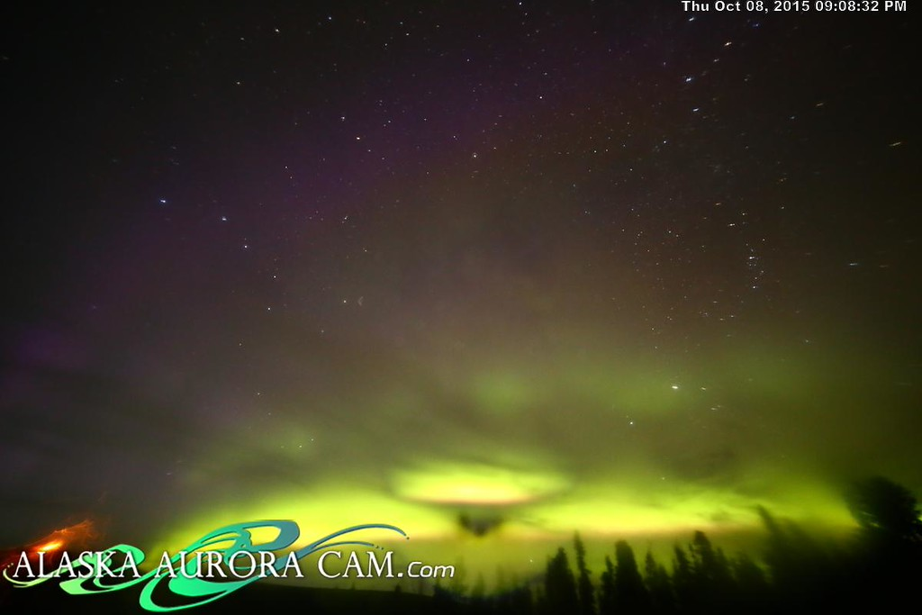 October 8th - Alaska Aurora Cam