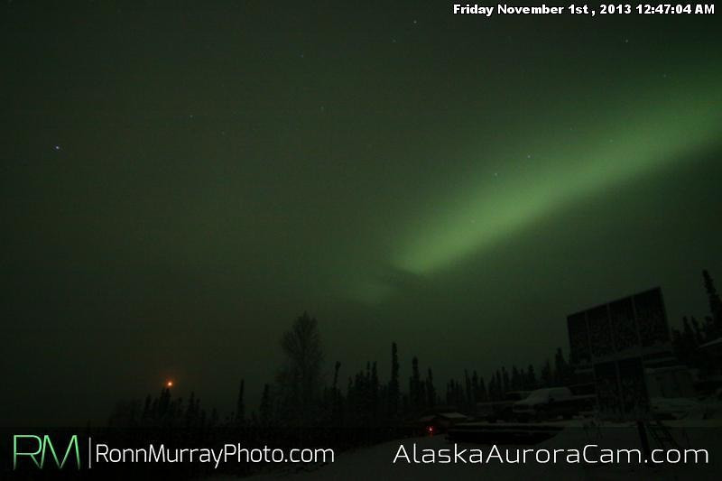 Likely Story - Nov 1st, Alaska Aurora Cam