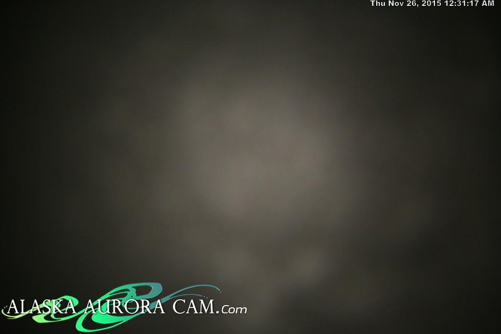 November 25th - Alaska Aurora Cam