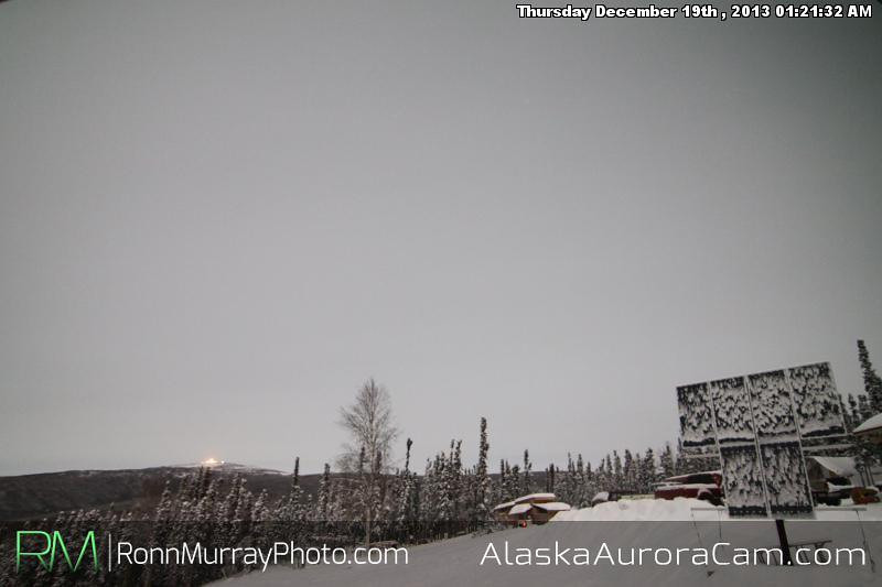 Triple Troubles - Dec 19th, Alaska Aurora Cam