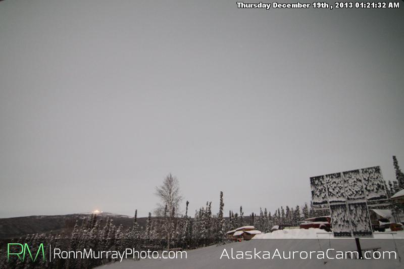 Triple Troubles - Dec 19th, Alaska Aurora Cam