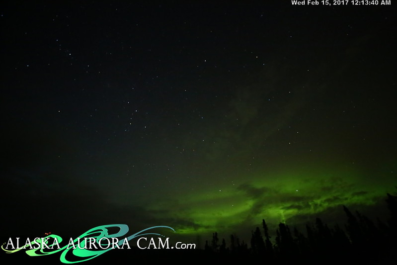 February 14th  - Alaska Aurora Cam