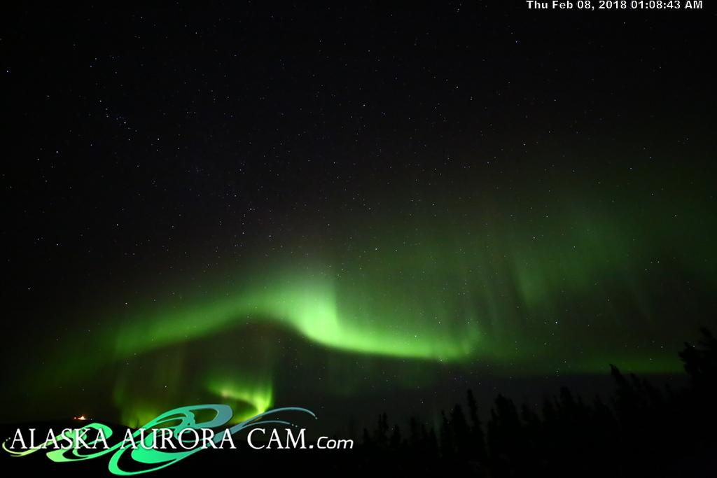 February 7th - Alaska Aurora Cam