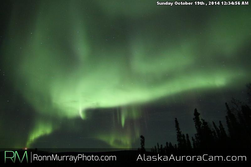 October 18th - Alaska Aurora Cam