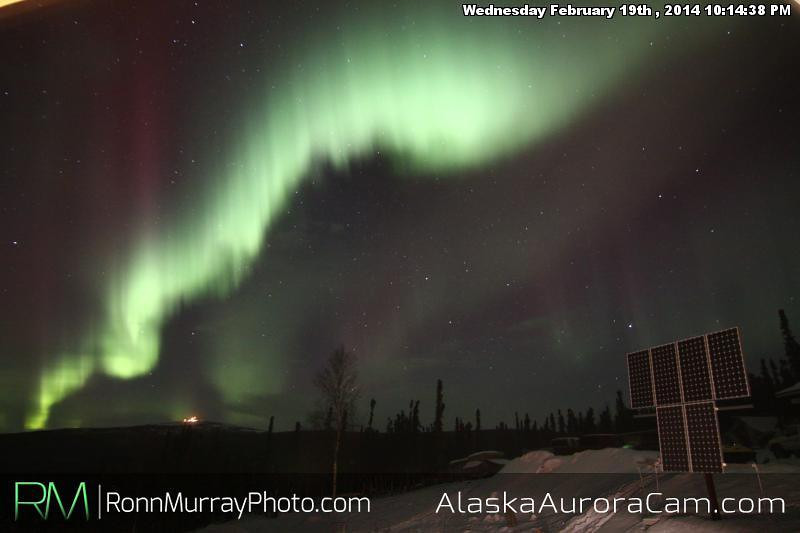 February 20th - Alaska Aurora Cam