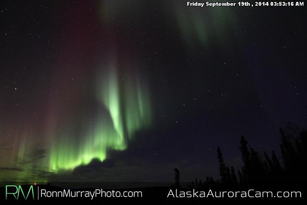 September 18th - Alaska Aurora Cam