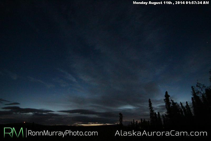 August 10th - Alaska Aurora Cam